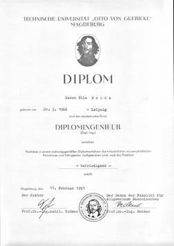 Diplomurkunde2 - Tilo Brode